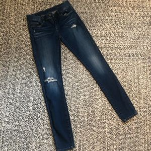 Blank NYC Distressed jeans, size 26